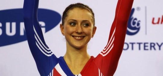 London 2012 Olympics track cycling Laura Trott velodrome