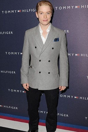 Freddie Fox attends the launch of the Tommy Hilfiger Flagship Store Launch