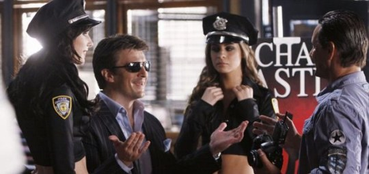 Nathan Fillion returns in Castle (Picture: ABC)