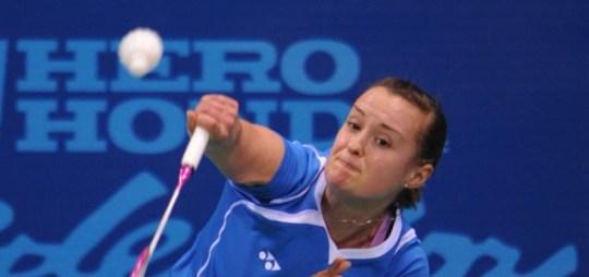 London 2012 Olympics badminton Susan Egelstaff  Elizabeth Cann