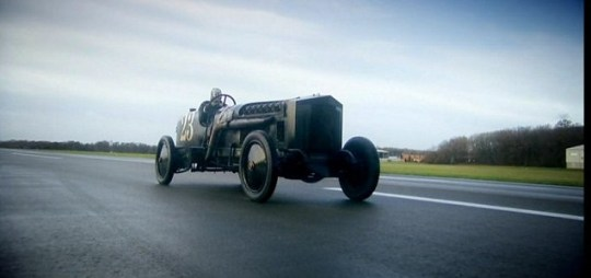 Top Gear gave a cheer for former vehicular glories (Picture: BBC)