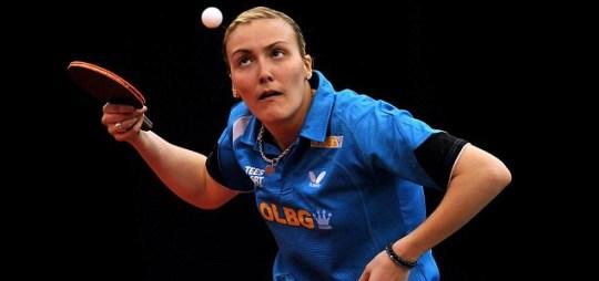 London 2012 Olympics table tennis Kelly Sibley