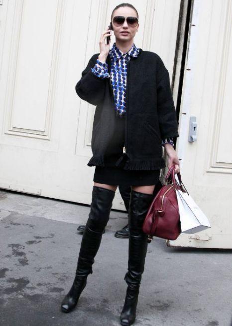 Miranda Kerr, Paris Fashion Week