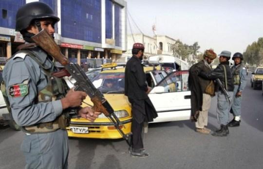 Afghanistan shooting
