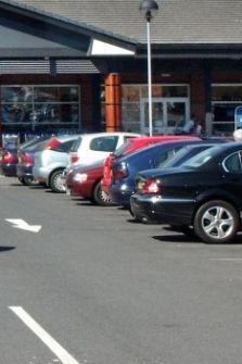 nhs, car park