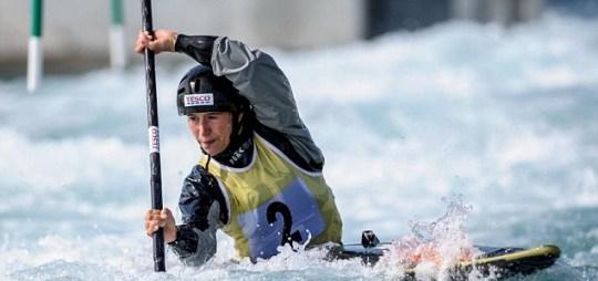 London 2012 Olympics canoe slalom