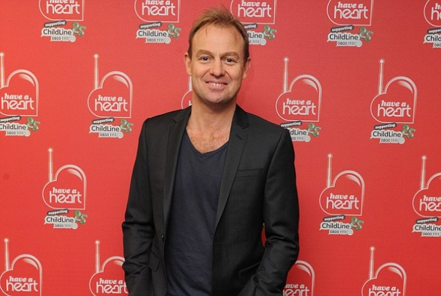 Heart presenter Jason Donovan at the Heart radio 'Have a Heart' appeal at Global Radio in Leicester Square, London.