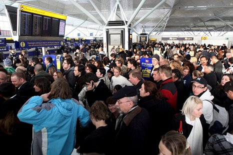 Passengers at London's airports are in for 'severe delay and disruption' during the Olympics, as things stand, according to leading airlines