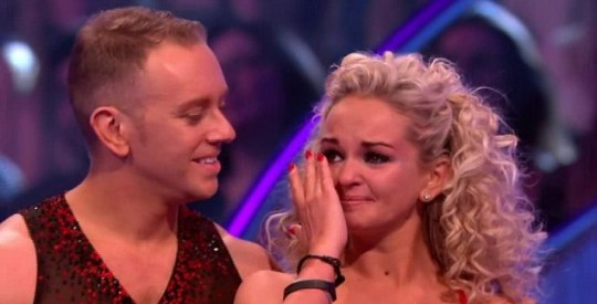 Jennifer Ellison, Dancing On Ice