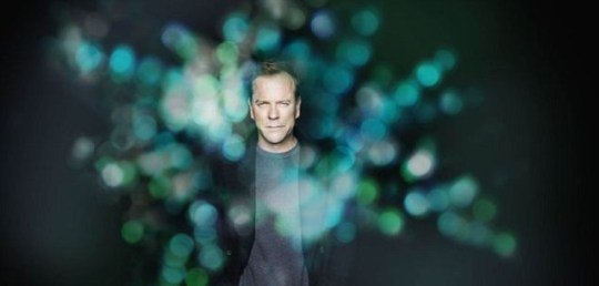 Kiefer Sutherland distances himself from the role of Jack Bauer in Touch (Picture: Sky)