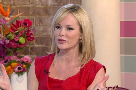 Amanda Holden joins Phillip Schofield on This Morning (Picture: ITV)