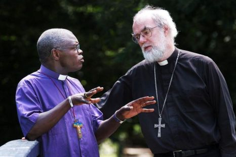 John Sentamu, Rowan Williams