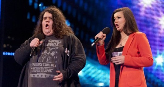 Charlotte and Jonathan were in the stand out act in Britain's Got Talent's opening episode (Picture: ITV)