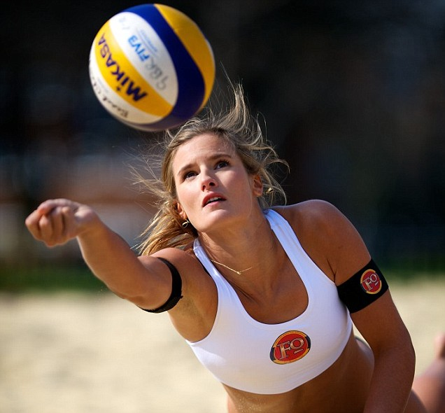 London 2012 Olympics beach volleyball