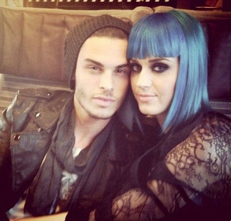 Katy Perry and Baptiste Giabiconi l