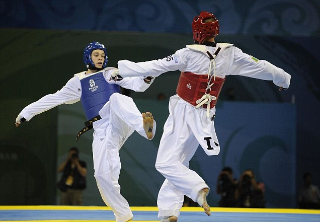 London 2012 Olympics taekwondo Aaron Cook