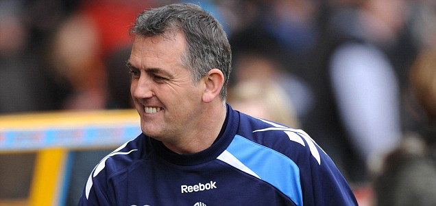 Bolton Wanderers' manager Owen Coyle