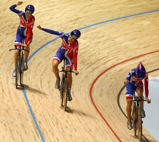 London 2012 Olympics track cycling