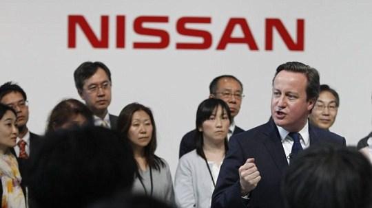 David Cameron, Nissan