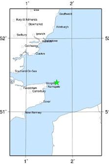 Earthquake, Margate, Kent