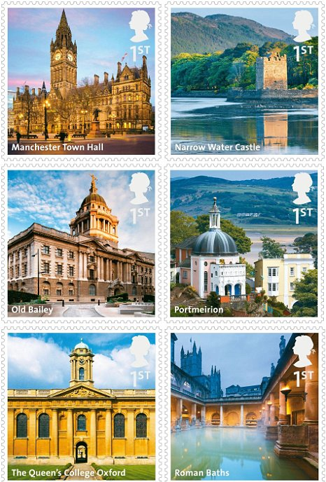 New 1st class stamps