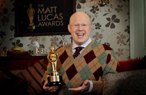 Matt Lucas creates his own personal version of the Razzies (Picture: BBC)