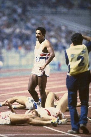 Last man standing: Daley Thompson's European decathlon triumph inspired Redgrave