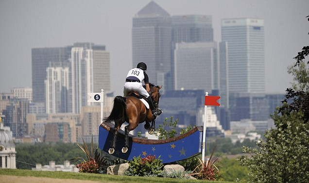 London 2012 Olympics equestrian