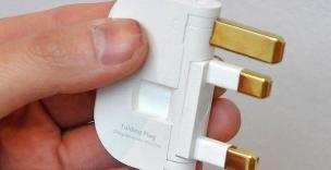 Folding Plug, Alexander McQueen
