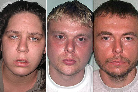 Baby Peter's killers: Connelly, Barker and Owens