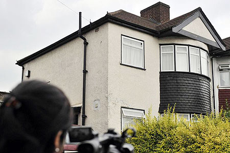 Horror house: The home in Tottenham, north London, where Baby P died