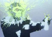 Banksy self-portrait
