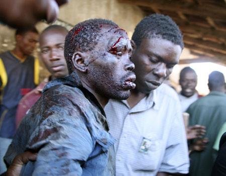 Kenya beating