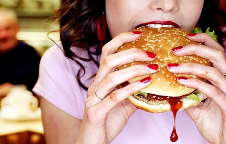 Burgers and chips could be better than supplements after a gym work out