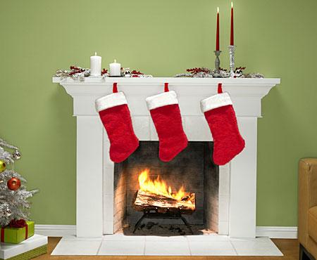 Mobile phone Christmas stocking