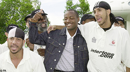 Cricket in Compton