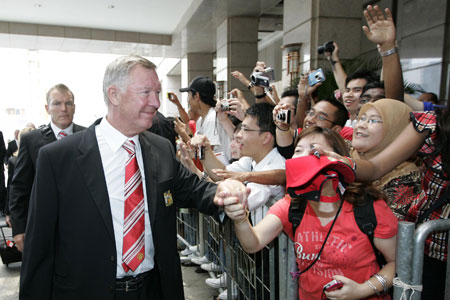 Sir Alex Ferguson in Malaysia