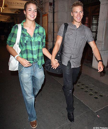 Gemma Atkinson and boyfriend Liam Richards