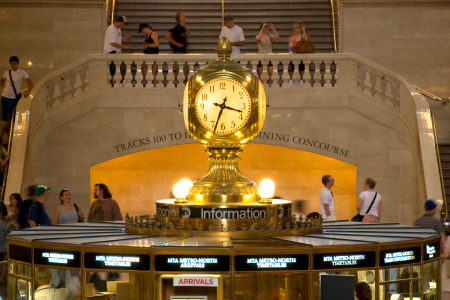 Iconic: Grand Central is New York's most famous railway station