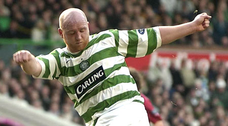 Hartson played with Celtic, Arsenal and West Ham