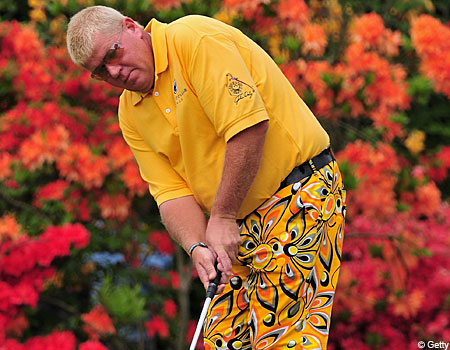 John Daly showed his true colours at the Italian Open