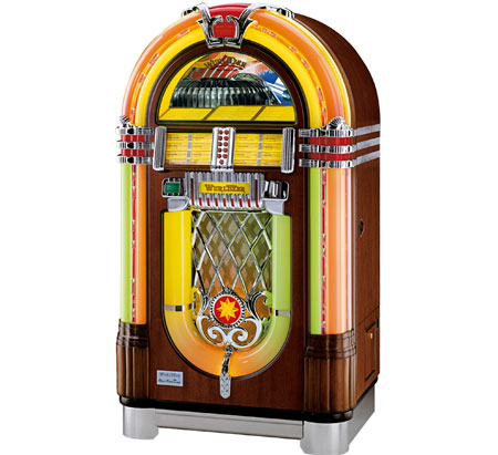 Wurlitzer CD jukebox is a great gift idea for dad