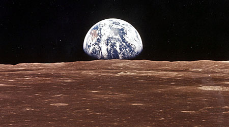 The Moon is moving away from Earth at a rate of 4cm per year
