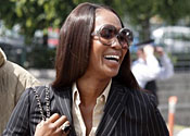 Naomi Campbell charged