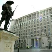 The Ministry of Defence has announced the death of a British soldier in southern Afghanistan