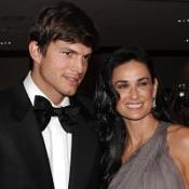 Ashton Kutcher and Demi Moore attended the lavish party