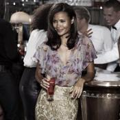 Thandie Newton is the face of a Martini campaign
