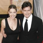 Denise Richards has revealed a shared dinner with Charlie Sheen