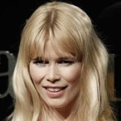 Claudia Schiffer gave police four bottles of champagne