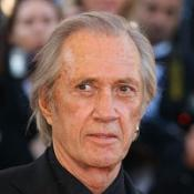 David Carradine's agent said he was in good spirits